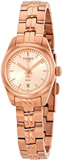 tissot rose gold watch ladies