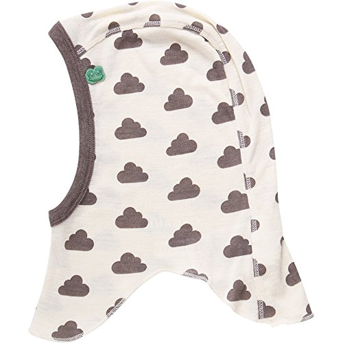 Fred's World by Green Cotton Unisex Wool Sky hat Fliegermütze, Elfenbein (Cream 011060200), Large (Herstellergröße: 92/98)