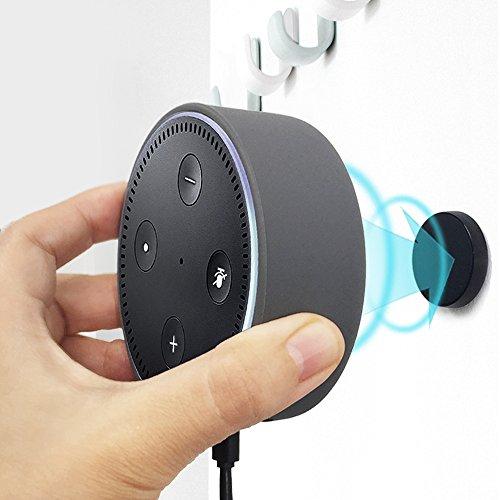 KIWI Design Dot ケース スタンド Dot 第2世代用 壁掛 けシリコン ウォールマウント ホルダー マグネットホ...