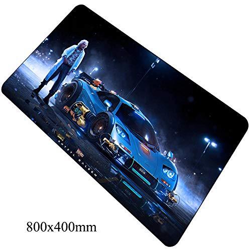 Muis Pads Terug naar De Toekomstige Muis Pad 800X400X2Mm Matten Computer Mouse Pad Game Vergrendeld Toetsenbord Games Voor Pc, E