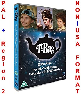 T-Bag - Series 1 ( Trouble with T-Bag / Wonders in Letterland ) ( Dotty in Dictionaria (T-Bag - Series One) ) [ NON-USA FORMAT, PAL, Reg.2 Import - United Kingdom ]
