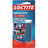 (6 Pack 2 oz Cylinders) - Loctite 1999131-6 All Purpose Repair Putty, 60mls Cylinders, Case of 6, White