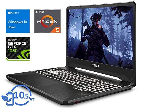ASUS FX505DD FX505DD-DR5N6Laptop, 15.6' FHD Display, AMD Ryzen 5 3550H Upto 3.7GHz, 8GB RAM, 256GB NVMe SSD, NVIDIA GeForce GTX 1050, HDMI, Wi-Fi, Bluetooth, Windows 10 Home (Renewed)