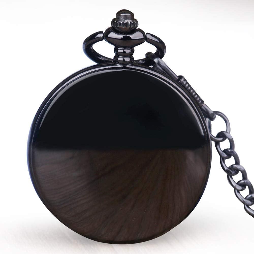YIWMHE Fashion Unisex sold out favorite Black Handwindi Stainless Mechanical Steel
