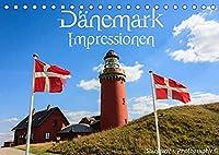 Daenemark Impressionen (Tischkalender 2022 DIN A5 quer): Daenemarks Landschaften und Sehenswuerdigkeiten (Monatskalender, 14 Seiten )