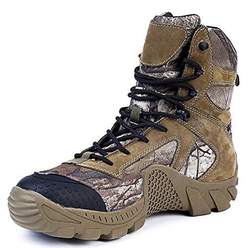 Adornty Top High Desert Boot, Tarnung Male Baum Kletterschuhe, Wear Hardy Desert Boot, für Vielfalt Outdoor Sport,40