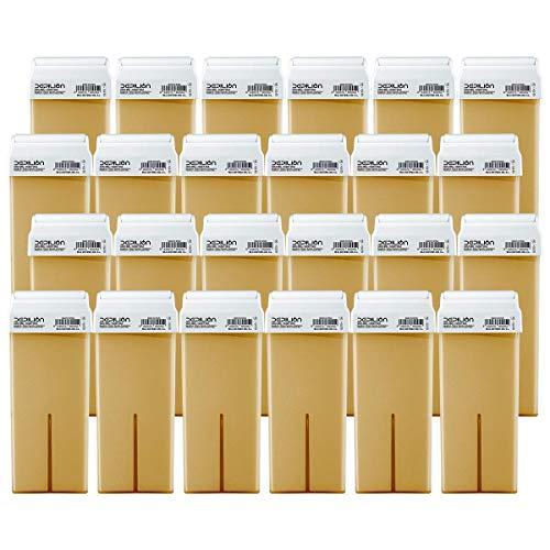 Depilion Wachs-Roll-On-Patronen, 100 ml, Honig | Roll-on Wachs für Haarentfernung