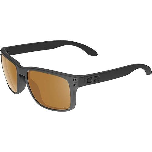 c623aa0d79e Oakley Mens Holbrook Polarized Matte Black Bronze