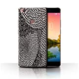 Stuff4 Phone Case for ZTE Nubia Z11 Black Fashion Tiny