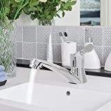 AUNMAS G1/2in <span class='highlight'>Single</span> Handle <span class='highlight'>Pull</span> <span class='highlight'>Out</span> <span class='highlight'>Sprayer</span> <span class='highlight'>Bathroom</span> Quick Leadfree Commercial Chrome Brushed Faucet <span class='highlight'>Kitchen</span> Modern Basin <span class='highlight'>Sink</span> Water Tap for Home