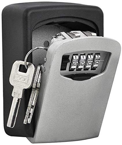 Nestling® Boite à Clefs Haute sécurité de la police Safe Key Murale à 4 chiffres clés Coffre haute sécurité Combination Lock stocker les clés de