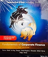 Fundamentals of Corporate Finance 2E Australasian Wiley E-text+istudy Version 2 Card