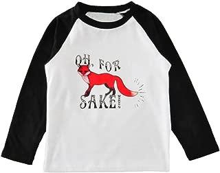 Baby Kids Boys Girls Long Sleeve Fox Cute Cotton T-Shirt Tops