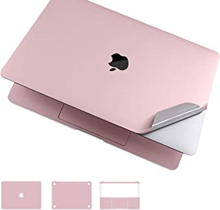Premium 5-in-1 MacBook Full Body 3M Protective Skin Decals Stickers for MacBook Pro 15 with Touch Bar(Model Number: A1707/A1990, 2016/2017/2018) - Rose Pink