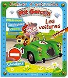 Les voitures - Cahier d'activités