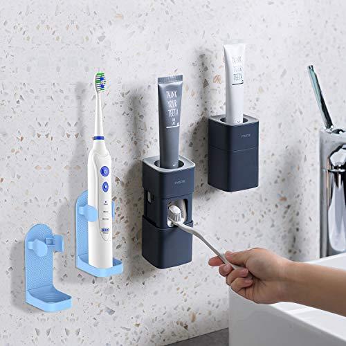 Dispensador de pasta de dientes automático montado en la pared viene con...