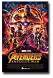 Avengers Infinity War Poster Movie 16x25 inches Print frameless art gift 40x63cm