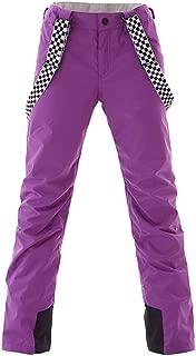 purple plaid snowboard pants