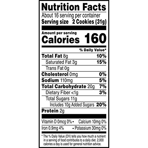Keebler Chips Deluxe, Cookies, Rainbow, with M&M's Chocolate Candies, 17.2 oz(Pack of 12)