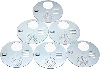 WEICHUAN 6PCS Bee Hive Nuc Box Entrance Gates, Entrance Disc (Diameter:12.5CM) - Beekeeping Equipment Beehive Tool Beekeeper Tool