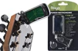 Stagg 21016automático Afinador Cromático Clip-on Sintonizador con metrónomo