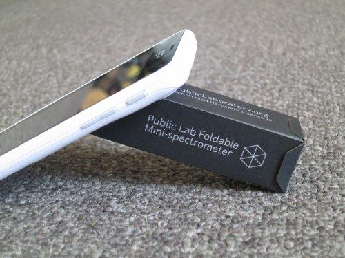 DIY Foldable Paper Smartphone Mini Spectrometer Analyze and Catalog Materials