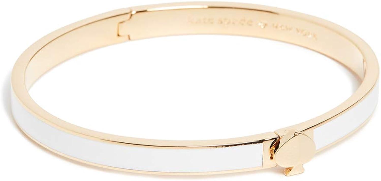 Kate Spade New York Women's Heritage Spade Thin Enamel Bangle Bracelet