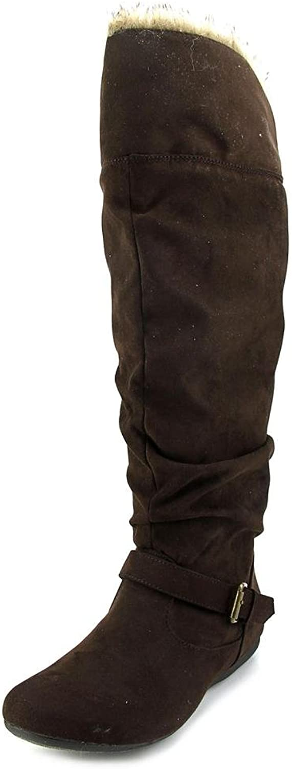 New Directions Womens Sierra Closed Toe Mid-Calf Fashion Boots