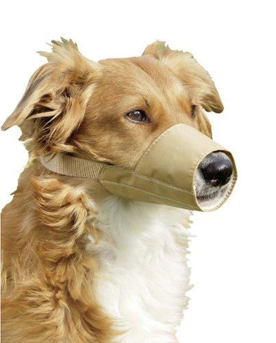 KARLIE Maulkorb NYLON beige für Hunde Gr. 4 (24,0cm)