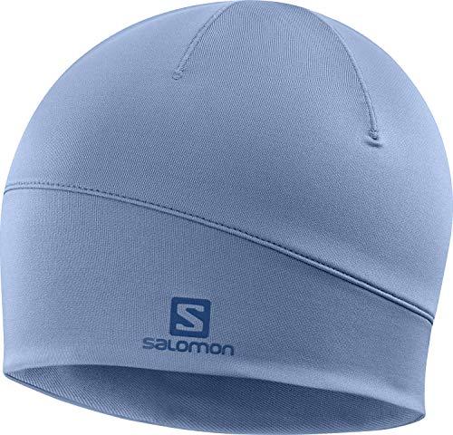 Salomon Gorro de senderismo y entrenamiento, Hombre, ACTIVE BEANIE, Azul (Copen Blue),...