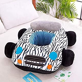Yslina Multifunctional Baby seat Sofa Cartoon Chair Toy car Sofa  Color Stripe