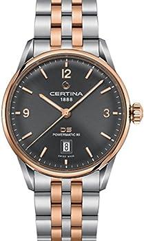 Certina DS Powermatic Automatic Grey Dial Men's Watch