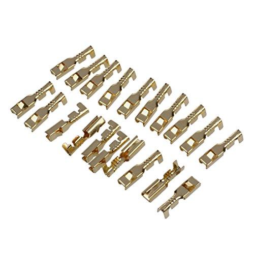 Gaoominy 20 terminales de cable hembra para conectores de 2,8 mm.