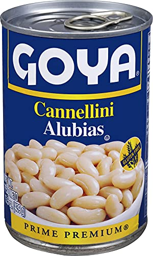 Goya Foods Cannellini Beans, 15.5 Ounce (Pack of 24)