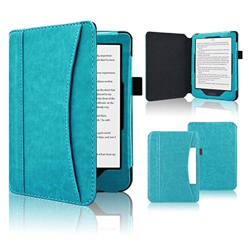 ACcolor Folio Hülle für Tolino Shine 3 - PU Leder Schutzhülle Tasche mit Auto Sleep/Wake Funktion für Tolino Shine 3 eReader (2018)
