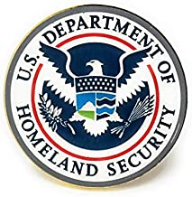US Department of Homeland Security Lapel Pin