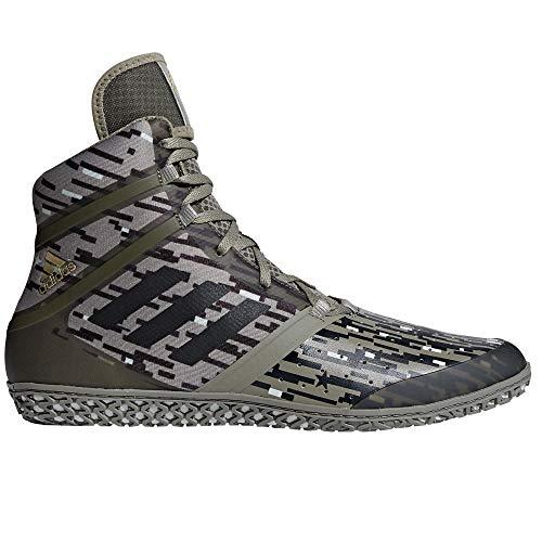adidas Flying Impact Ringer-Schuhe Wrestlerschuhe GRÖßENAUSWAHL & Farbauswahl (40 EU/UK 6,5, Cargo)