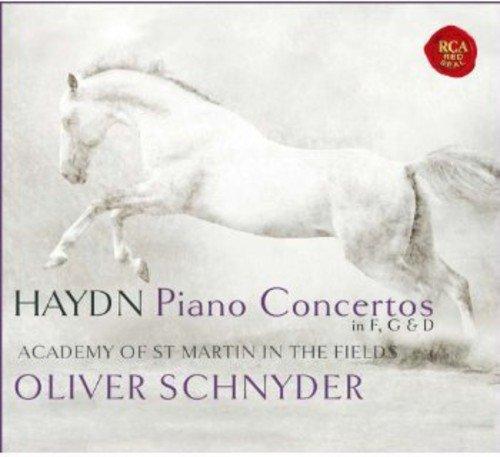 Haydn: Piano Concertos in F, G & D
