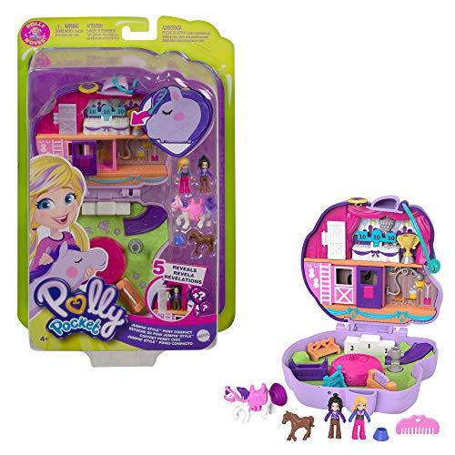 Polly Pocket GTN14 - Pony-Springspass Schatulle