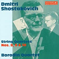 Shostakovich: String Quartets Nos. 8-10 by Dmitry Shostakovich