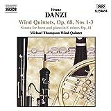Quintettes pour instruments à vents, op 68 / Sonate pour cor & piano en mi mineur, op 44