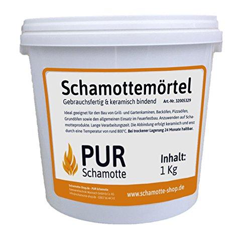 Schamottemörtel (keramisch) - 3kg Dose