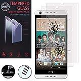 ShopInSmart Verre Trempé pour HTC Desire 626/ 626s/ 626G/ 626G+, [Pack de 2] Film Protection écran Anti cassé - Anti Rayures - sans Bulles d'air - Ultra Résistant Couleur Transparent