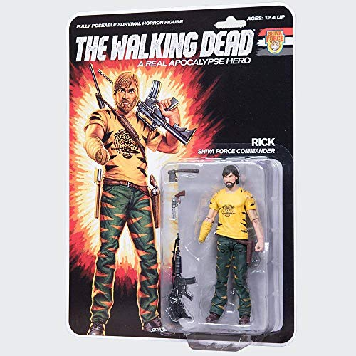 McFarlane The Walking Dead Action Figure Shiva Force Commander Rick (Color) 13 cm Toys