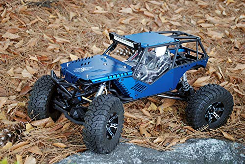 JK-WORKS New Upgrade Design Axial Wraith Aluminum Body Panel Kit (Anodizing - Blue Hard Color)