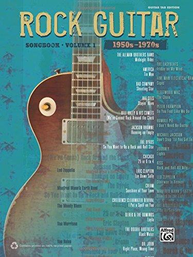 Rock Guitar Songbook: 1950s-1970s: Guitar Tab Edition