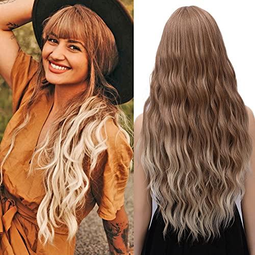 comprar pelucas pelo largo rubio en internet