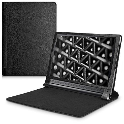 kwmobile Lenovo Yoga Tab 3 Plus Hülle - Tablet Cover Case Schutzhülle für Lenovo Yoga Tab 3 Plus mit Ständer
