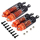 Hobbypark 4-Pack Shock Absorber Assembled Front /& Rear Shocks Replace 5862 for 1//10 Traxxas Slash 4x4 4WD Upgrade Parts Blue
