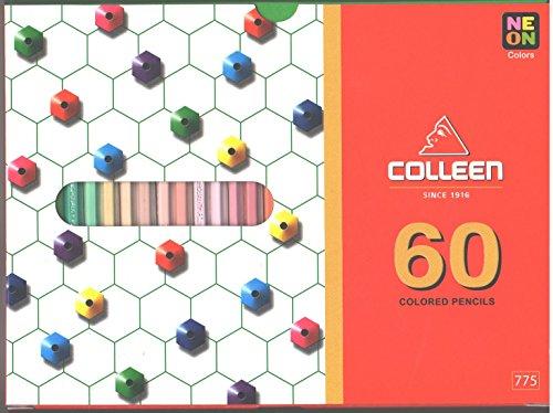 Colleen Colored Pencils Hexagon Set 60 Colors